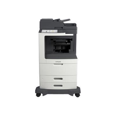 Lexmark 24T7407 MX810de - Multifunction printer - B/W - laser - Legal (8.5 in x 14 in) (original) - Legal (media) - up to 55 ppm (copying) - up to 55 ppm (print