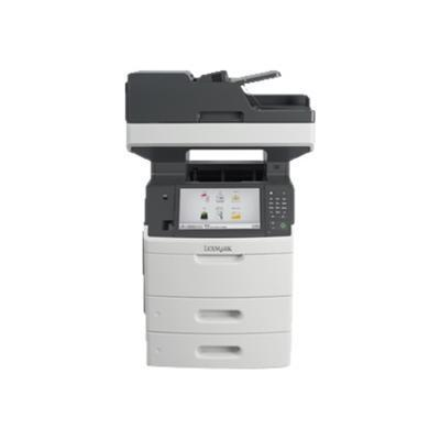 Lexmark 24T7406 MX711dthe - Multifunction printer - B/W - laser - Legal (8.5 in x 14 in) (original) - A4/Legal (media) - up to 70 ppm (copying) - up to 70 ppm (