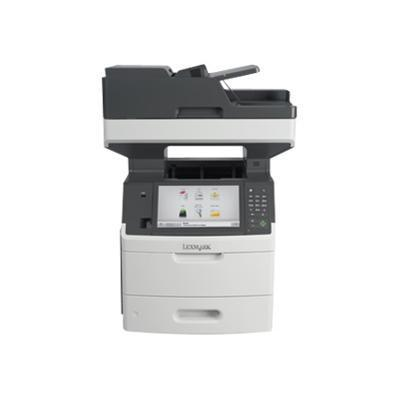 Lexmark 24T7320 MX711dhe - Multifunction printer - B/W - laser - Legal (8.5 in x 14 in) (original) - A4/Legal (media) - up to 70 ppm (copying) - up to 70 ppm (p