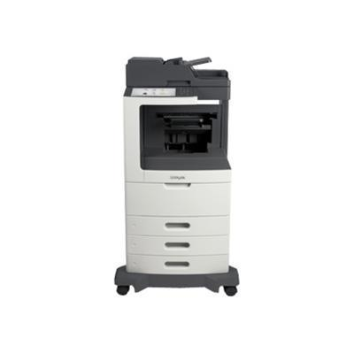 Lexmark 24T7412 MX810dtfe - Multifunction printer - B/W - laser - Legal (8.5 in x 14 in) (original) - A4/Legal (media) - up to 55 ppm (copying) - up to 55 ppm (