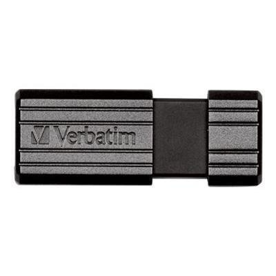 Verbatim 49065 PinStripe USB Drive - USB flash drive - 64 GB - USB 2.0 - black