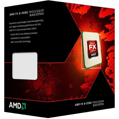 Advanced Micro Devices FD8320FRHKBOX 8-Core FX-8320 3.50GHz Socket AM3+ Black Edition Boxed Processor