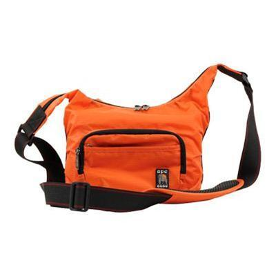 Norazza AC520-OR Ape Case Envoy AC520OR Compact Messenger Case - Shoulder bag for digital photo camera with lenses - ripstop nylon - orange