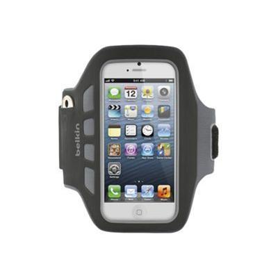 Belkin F8W106ttC00 Ease-Fit Plus Armband for iPhone 5 - Blacktop