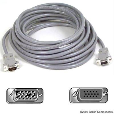 Vga/svga Monitor Extension Cable - 10'