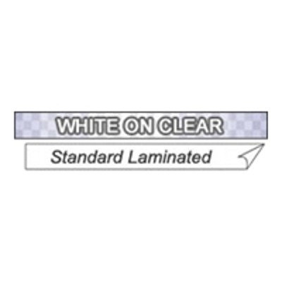 Brother Tc14z1 Laminated Tape - White  Transparent - Roll (0.35 In) 1 Roll(s) - For P-touch Pt-12  Pt-150  Pt-20  Pt-25  Pt-6  Pt-8  Pt-80