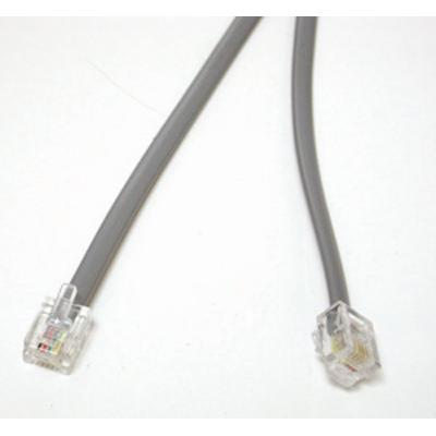 C2G 09593 Network cable - RJ-11 (M) to RJ-11 (M) - 50 ft