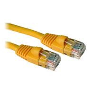 C2G 15210 14 Feet CAT5e 350MHz Snagless Patch Cable  Yellow