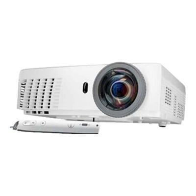 Dell S320WI S320wi - DLP projector - 3D - 3000 lumens - XGA (1024 x 768) - 4:3 - 802.11n wireless / LAN