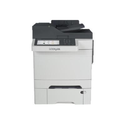 Lexmark 28E0550 CX510dthe - Multifunction printer - color - laser - Legal (8.5 in x 14 in) (original) - Legal (media) - up to 32 ppm (copying) - up to 32 ppm (p