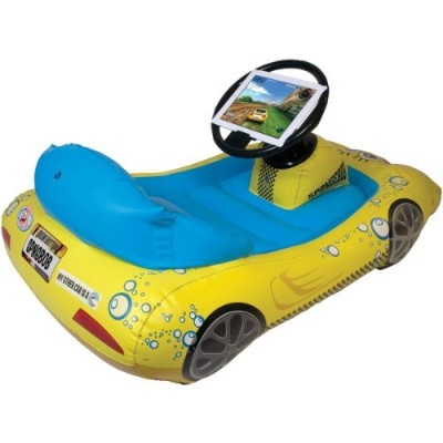 CTA Digital NIC SIK iPad with Retina display iPad 3rd Gen iPad 2 SpongeBob SquarePants Inflatable Sports Car
