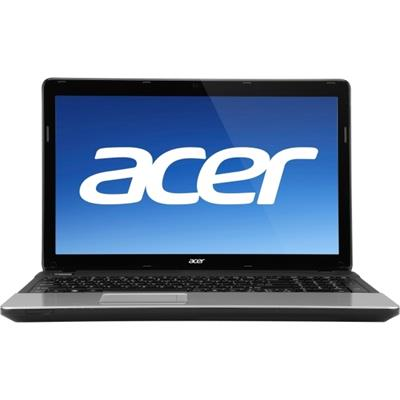 Aspire E1-571-6801 Intel Core i3 2328M 2.2GHz Notebook - 4GB RAM  500GB HDD  15.6 Widescreen LED backlight CineCrystal display  Intel HD Graphics 3000  DVDRW  G