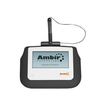 Ambir Technology SP110-S2 ImageSign Pro 110 - Signature terminal w/ LCD display - wired - USB