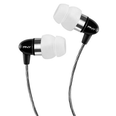 Pny Aud-e-202-bk-a-rb Uptown 200 Series Earphone With Apple Controller - Black