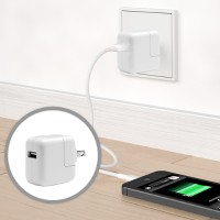 Apple 12W USB Power Adpater for iPhone, iPad, iPod touch and iPod nano