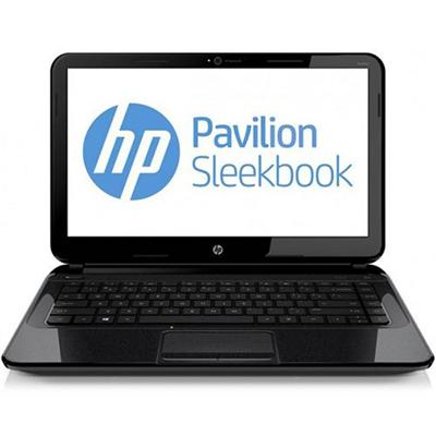 Pavilion Sleekbook 14-b013nr Intel Core i3-3217U Dual-Core 1.80GHz Notebook PC - 4GB RAM  500GB HDD  14.0 HD LED  Fast Ethernet  802.11b/g/n  Webcam  4-cell 37W