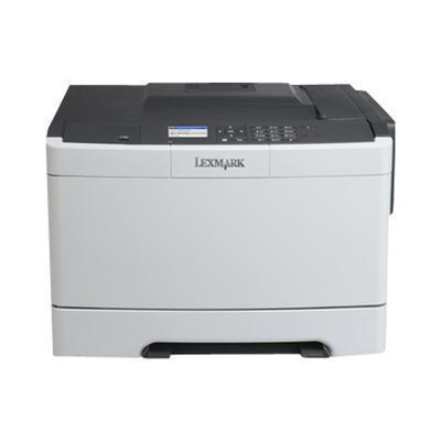Lexmark 28D0000 CS410n - Printer - color - laser - A4/Legal - 1200 dpi - up to 32 ppm (mono) / up to 32 ppm (color) - capacity: 250 sheets - USB  LAN  USB host