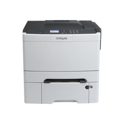 Lexmark 28D0100 CS410dtn - Printer - color - Duplex - laser - A4/Legal - 1200 dpi - up to 32 ppm (mono) / up to 32 ppm (color) - capacity: 900 sheets - USB  LAN