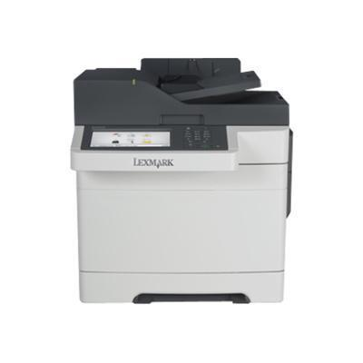 Lexmark 28E0615 CX510dhe - Multifunction printer - color - laser - Legal (8.5 in x 14 in) (original) - Legal (media) - up to 32 ppm (copying) - up to 32 ppm (pr