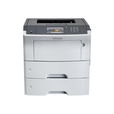 Lexmark 35S0550 MS610dte - Printer - monochrome - Duplex - laser - A4/Legal - 1200 dpi - up to 50 ppm - capacity: 1200 sheets - USB  Gigabit LAN  USB host