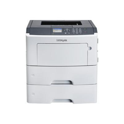 Lexmark 35S0450 MS610dtn - Printer - monochrome - Duplex - laser - A4/Legal - 1200 x 1200 dpi - up to 50 ppm - capacity: 1200 sheets - USB  Gigabit LAN  USB hos