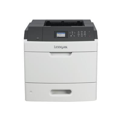 Lexmark 40G0100 MS810n - Printer - monochrome - laser - A4/Legal - 1200 x 1200 dpi - up to 55 ppm - capacity: 650 sheets - USB  Gigabit LAN  USB host