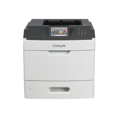Lexmark 40G0150 MS810de - Printer - monochrome - Duplex - laser - A4/Legal - 1200 x 1200 dpi - up to 55 ppm - capacity: 650 sheets - USB 2.0  Gigabit LAN  USB h