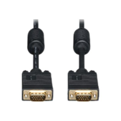 Ergotron 97-748 VGA cable - HD-15 (M) to HD-15 (M) - 10 ft - molded - black - for P/N: 45-353-026