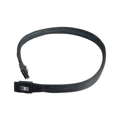 Cables To Go 06193 SAS internal cable - with Sidebands - SAS 6Gbit/s - 36 pin 4i Mini MultiLane to 36 pin 4i Mini MultiLane - 1.6 ft - black