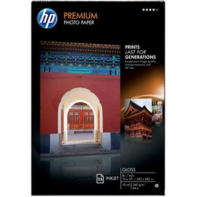 Premium Plus Gloss Photo Paper- 13 x 19 in (25 sheets)