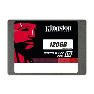Kingston Digital SV300S37A/120G SSDNow V300 - Solid state drive - 120 GB - internal - 2.5 - SATA 6Gb/s