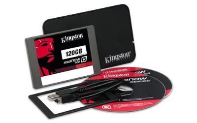 Kingston Digital SV300S3N7A/120G 120GB SSDNOW V300 SATA 3 2.5 (7MM HEIGHT) NOTEBOOK BUNDLE KIT W/ADP