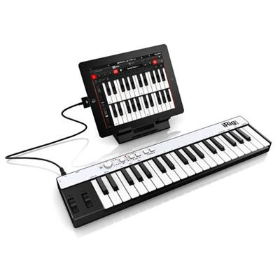 iRig KEYS - Mini Keyboard MIDI Controller for iOS Devices and Mac/PC