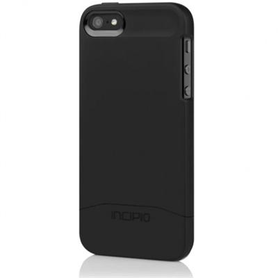 EDGE Hard-Shell Slider Style Case for iPhone 5 - Obsidian Black