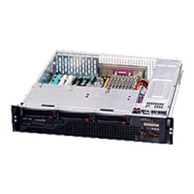 Super Micro CSE-825MTQ-R700LPB BLACK 2U SC825M COMPACT SAS W/ REDUN. 7