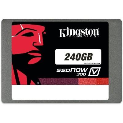 Kingston Digital SV300S37A/240G SSDNow V300 - Solid state drive - 240 GB - internal - 2.5 - SATA 6Gb/s