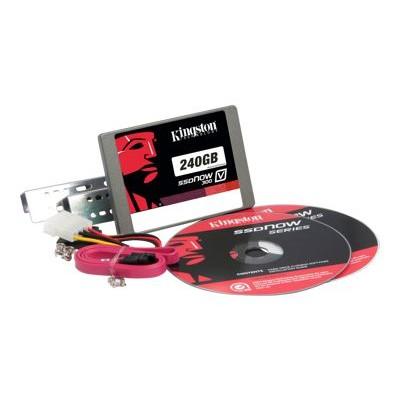 Kingston Digital SV300S3D7/240G 240GB SSDNOW V300 SATA 3 2.5 (7MM HEIGHT) DESKTOP BUNDLE KIT