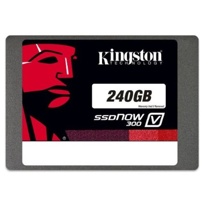 Kingston Digital SV300S3N7A/240G SSDNow V300 Notebook Upgrade Kit - Solid State Drive - 240 GB - SATA 6Gb/s