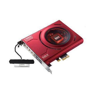 Creative Labs 70SB150000000 Sound Blaster Z - Sound card - 24-bit - 192 kHz - 116 dB SNR - 5.1 - PCIe