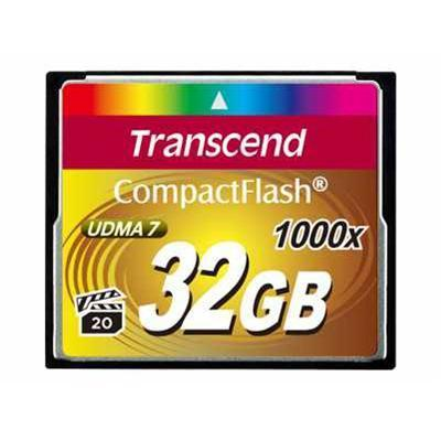 Transcend TS32GCF1000 Ultimate - Flash memory card - 32 GB - 1000x - CompactFlash