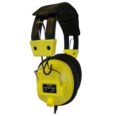 Avid AE-808YELLOW AE-808 Stereo Headphone - Yellow