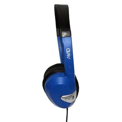 Avid FV-060BLUE Stereo Headphone with 1/8 Plug