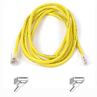Belkin A3L791-07-YLW  7ft. RJ45 CAT5e Patch Cable - Yellow