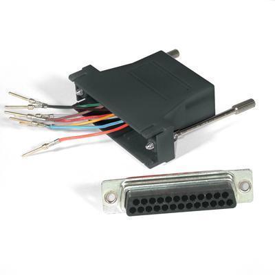 C2G 02929 Serial RS-232 adapter - RJ-45 (F) to DB-25 (F) - black