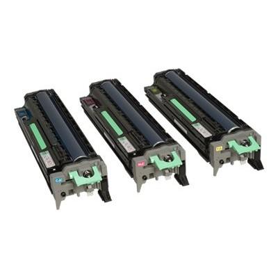 Ricoh 407096 Imaging Drum Kit - Cyan  Magenta  Yellow For Ricoh Aficio Printers SP C831DN  SP C830DN.