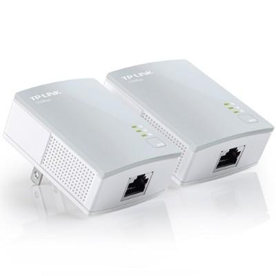 TP-Link TL-PA4010KIT TL-PA4010KIT - Bridge - HomePlug AV (HPAV) - wall-pluggable (pack of 2)