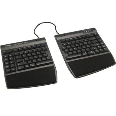 Kinesis KB800HMB-US Freestyle 2 for Mac - Keyboard - USB - US - Black