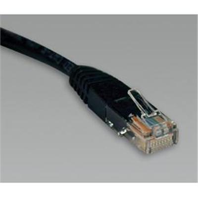 TrippLite N002-007-BK CAT 5e Black Patch Cable