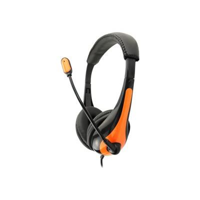 Avid AE-36ORANGE AE-36 - Headset - on-ear - black  orange