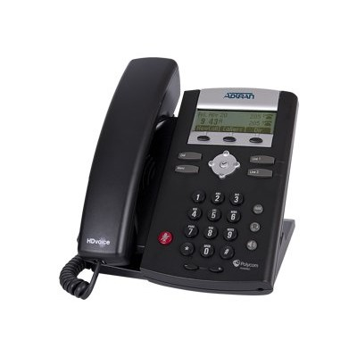 Adtran 1202752G1 IP 335 VoIP phone SIP RTCP SRTP 2 lines